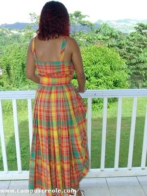 robes de soire. Robe de Soirée Créole